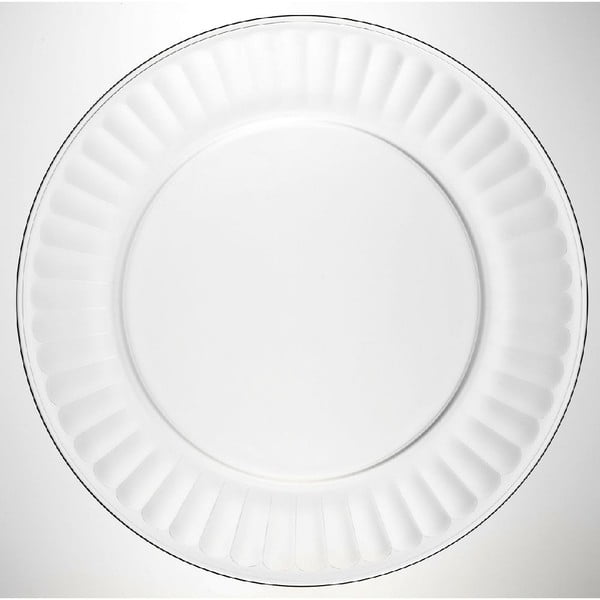 Sklenený tanier Pure, 25cm