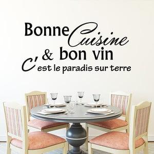 Samolepka Fanastick Cuisine & Bon Vin