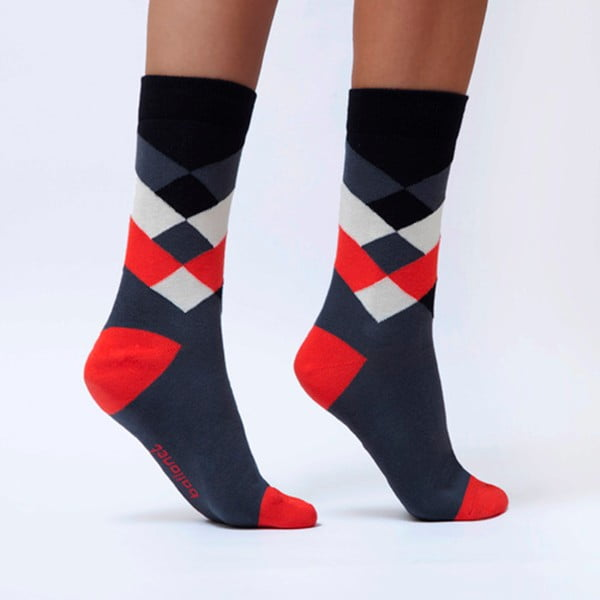 Ponožky Ballonet Socks Diamond Cherry, veľkosť 36-40