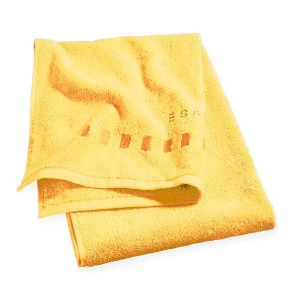 Uterák na tvár Esprit Solid 16x21 cm, žltá