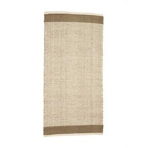 Koberec z bavlny a juty Simla Chenille, 140 × 70 cm