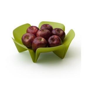 Malá zelená misa na ovocie Qualy Flower Fruit Tray
