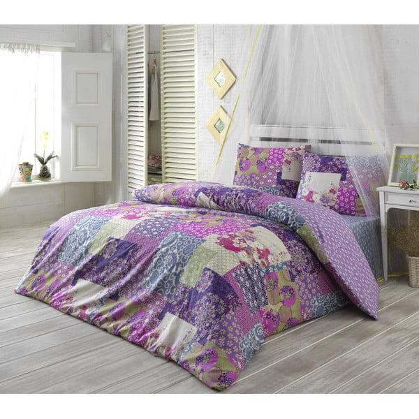 Obliečky s plachtou Virgem Lilac, 200x220 cm