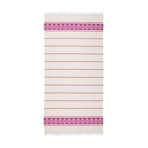 Ružovo-béžová hammam osuška Deco Bianca Loincloth Pinky, 80x170cm