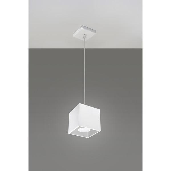 Biele závesné svetlo Nice Lamps Geo 1