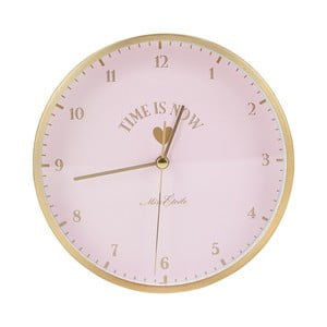 Ružové hodiny Miss Étoile Eyes, ø 42 cm