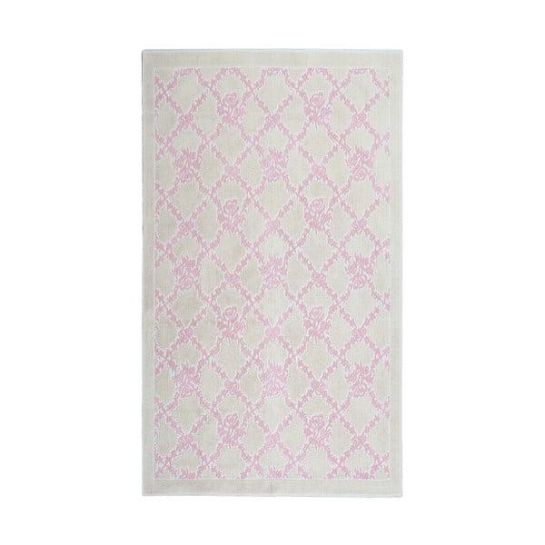 Púdrový bavlnený koberec Floorist Samasik, 80x300cm