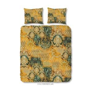 Obliečky na dvojlôžko z bavlneného saténu Muller Textiels Prášil, 200 x 200 cm
