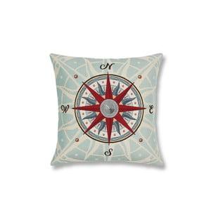 Obliečka na vankúš Maritim Compass, 45x45cm