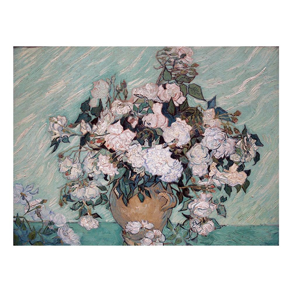 Reprodukcia obrazu Vincenta van Gogha - Rosas Washington, 60 × 45 cm