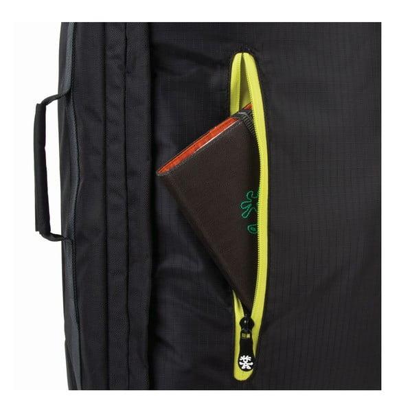 Cestovný kufor Track Jack Board, čierny