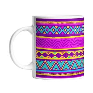 Keramický hrnček Aztec Style, 330 ml