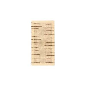 Vlnený koberec Tattoo no. 108, 60x120 cm, béžový