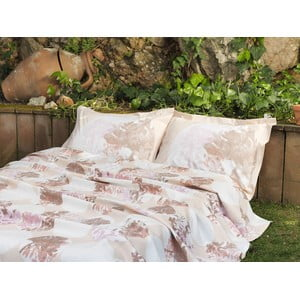 Prikrývka s plachtou Cream Floral, 160x220 cm