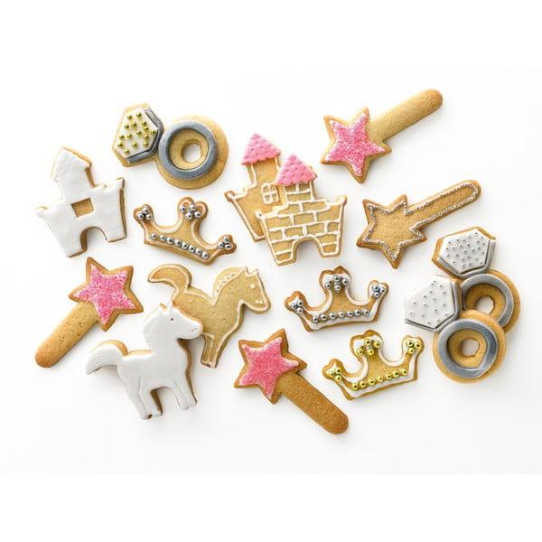 Set vykrajovadiel Kit Cookies Princess