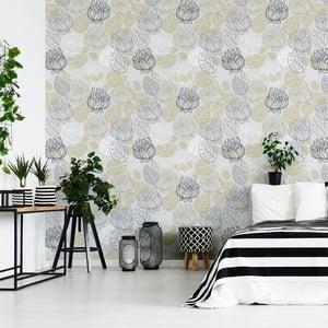 Dekoratívna samolepka na stenu Ambiance Florale, 60 x 60 cm