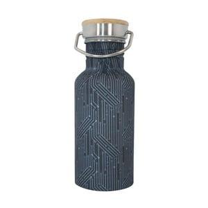 Tmavomodrá fľaša Navigate Circuit, 500 ml