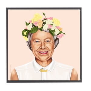 Obraz Fisura Queen Elizabeth, 50x50cm