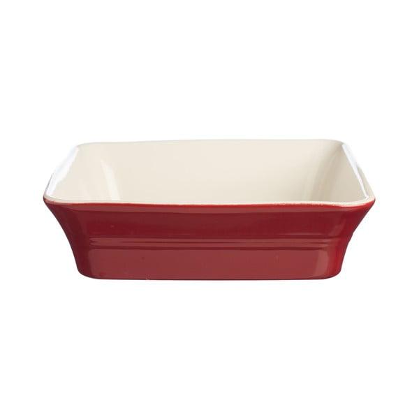 Červená kameninová forma Classic Kitchen, 26 x 26 cm