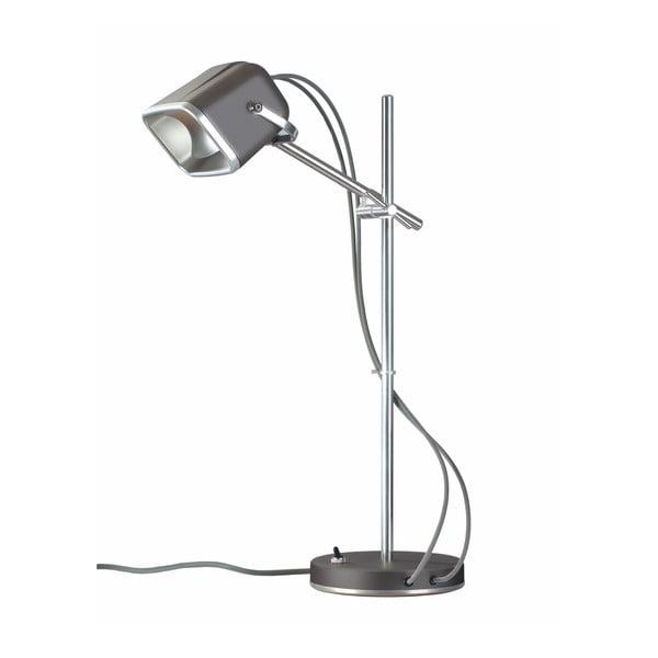 Sivá stolová lampa Mob