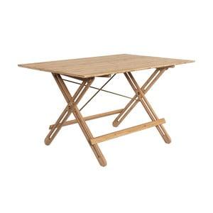 Jedálenský stôl z bambusu Moso We Do Wood Field, dĺžka 130 cm