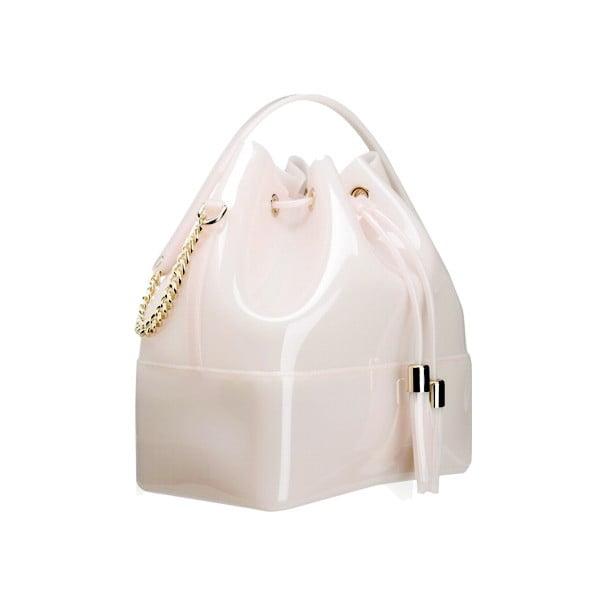 Biela plastová kabelka Kartell Grace K