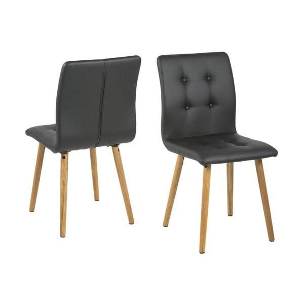 Jedálenská stolička Frida, čierna