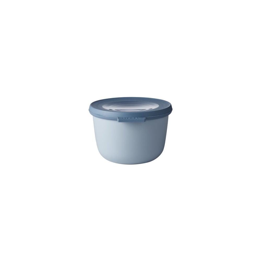 Modrá miska s viečkom Rosti Mepal Nordic, 500 ml