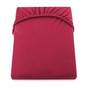Červená elastická plachta DecoKing Nephrite, 220–220cm