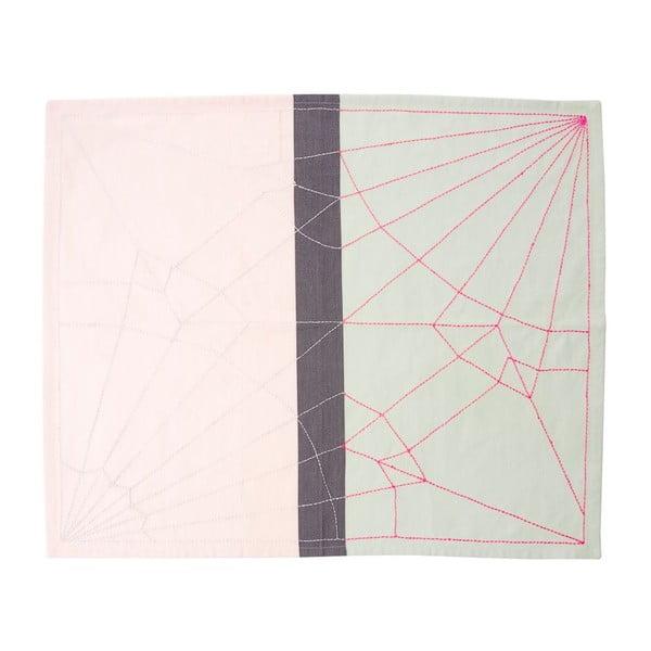 Kuchynská utierka Crane Neon Pink, 55x65 cm