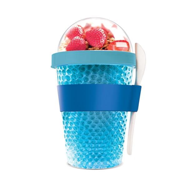 Termo téglik na jogurt Chill Yo 2 Go, modrý