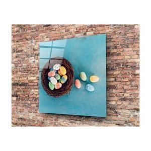 Sklenený obraz Insigne Putero, 40 × 40 cm