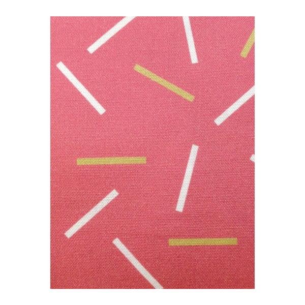Obliečka na vankúš Matches Pink, 45x45 cm