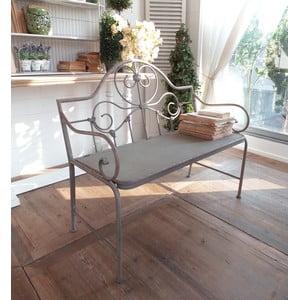 Lavica Old Grey, 107x55x93 cm