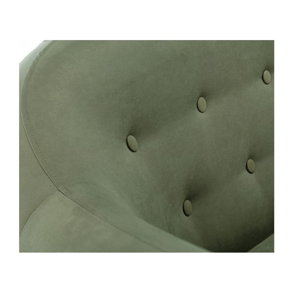 Zelená trojmiestna pohovka Scandi by Stella Cadente Maison Constellation