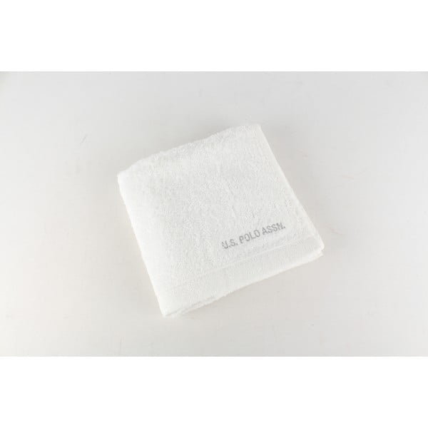Uterák US Polo Hand Towel White, 50x90 cm