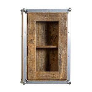 Nástenná skrinka z mangového dreva SOB Hemingway
