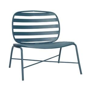Zelené železné kreslo Hübsch Lounge Chair