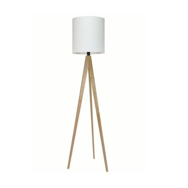 Stojacia lampa Artist White/Birch, 125x33 cm