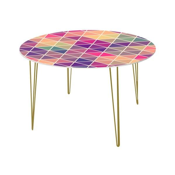 Jedálenský stôl Triangle Puzzle, 120 cm