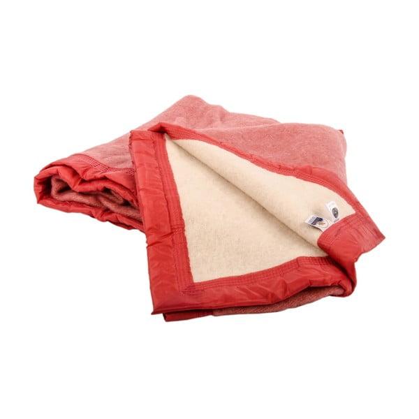 Vlnená deka Sarazzi Rose, 150x220 cm