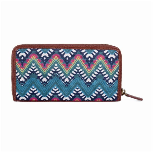 Pestrofarebná peňaženka SKPA-T, 19 x 9,5 cm
