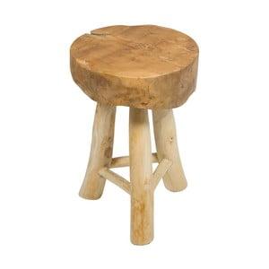 Stolička z teakového dreva Santiago Pons Milan