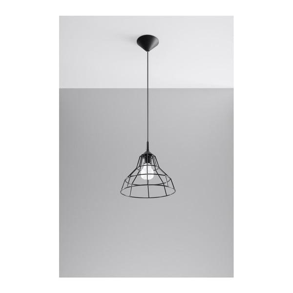 Čierne stropné svetlo Nice Lamps Asama