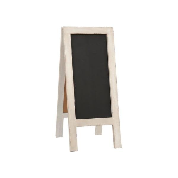 Stojacia tabuľa na písanie Clayre, 43x100 cm