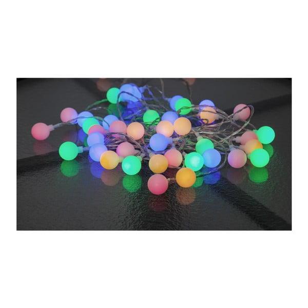 Svetelná reťaz Best Season Partylights Berry Multi, 50 svetielok