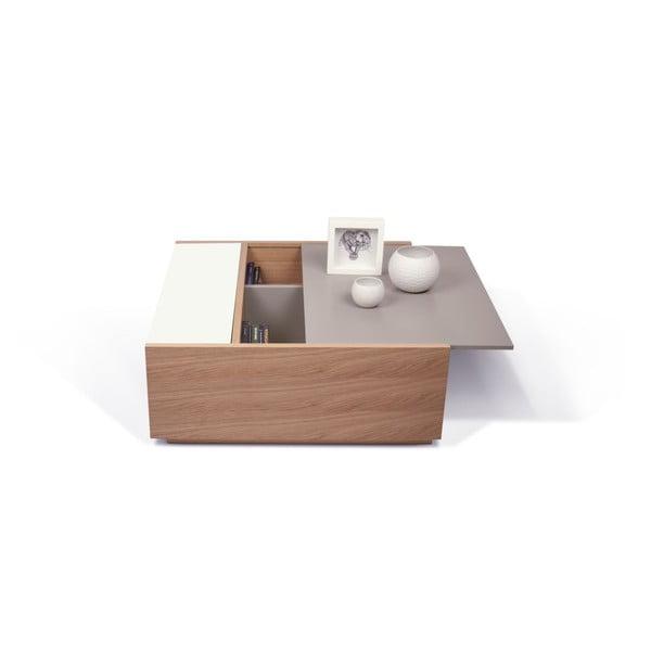 Stolík s úložným priestorom TemaHome Dann Oak