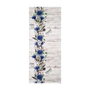 Vysokoodolný koberec Webtappeti Fiori, 58 x 80 cm
