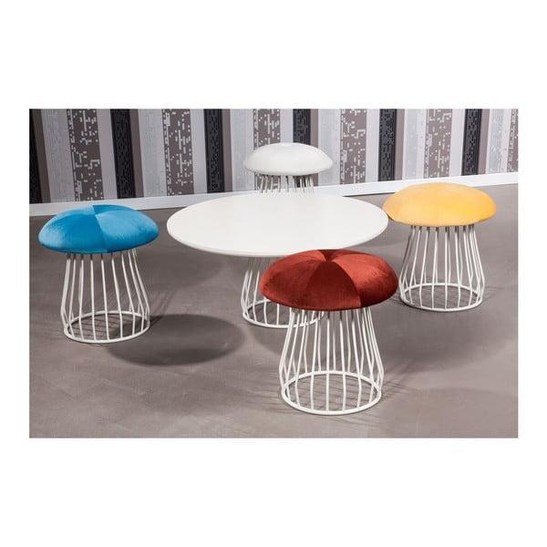 Konferenčný stolík Mushroom se židlemi