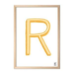 Plagát R od Karolíny Strykovej